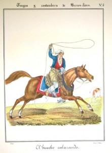 ... und so reiten die Gauchos. So what? Bild: Wikipedia/pd